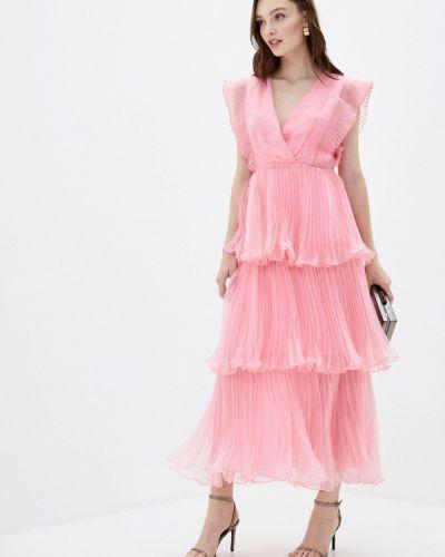 Розовое вечернее платье True Decadence
