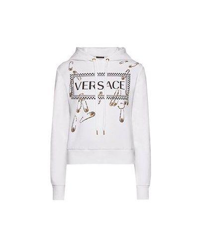 Толстовка белая Versace