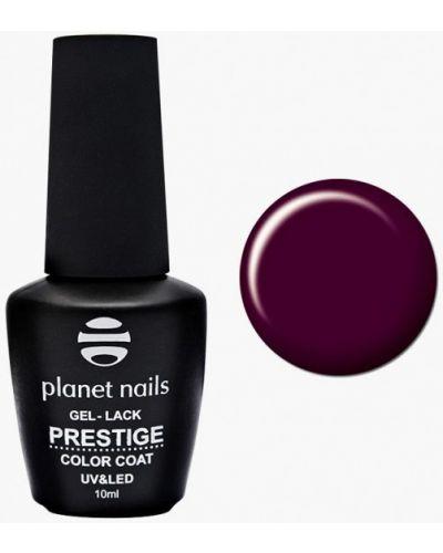 Лак для ногтей бордовый красный Planet Nails