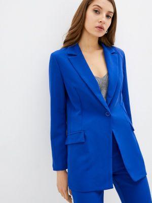 Синий зимний пиджак Rinascimento