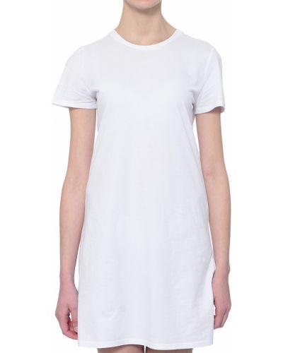 Хлопковое платье - белое Twin-set