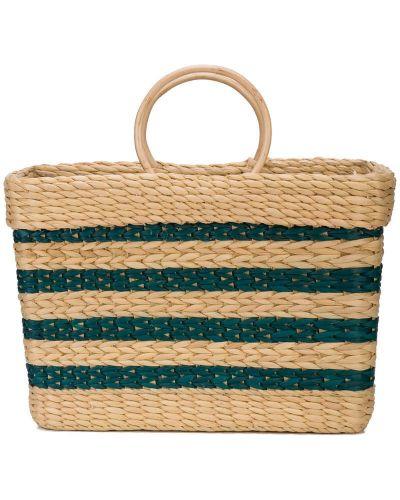 Плетеная сумка-тоут круглая Poolside
