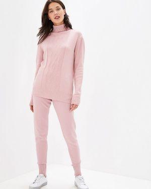 Костюм вязаный розовый Fresh Cotton