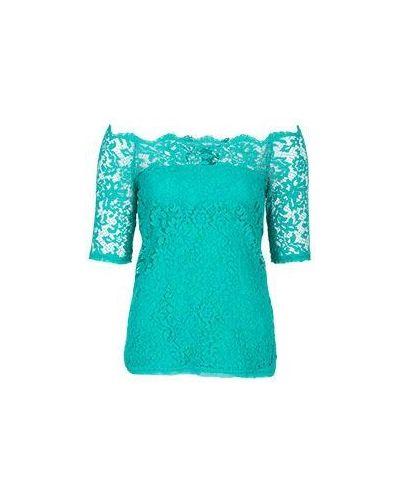 Блузка зеленый из вискозы D.exterior