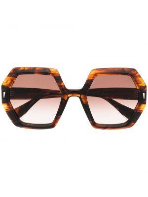 Okulary srebrne - czarne Gigi Studios