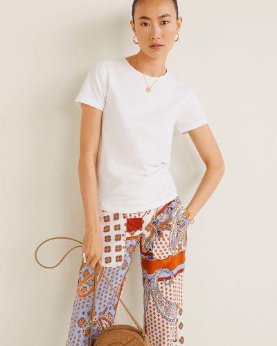 Koszula na gumce biała Mango
