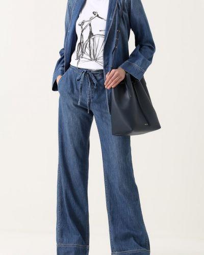 Брючный костюм джинсовый хлопковый Equipment