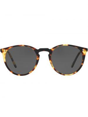 Темные солнцезащитные очки - коричневые Oliver Peoples