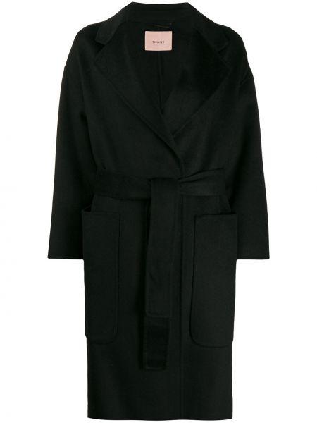 Пальто с запахом пальто Twin-set