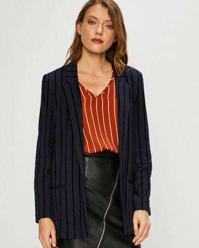 Классический пиджак прямой синий Only