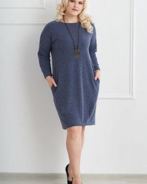 Теплое платье платье-сарафан приталенное Sharlize