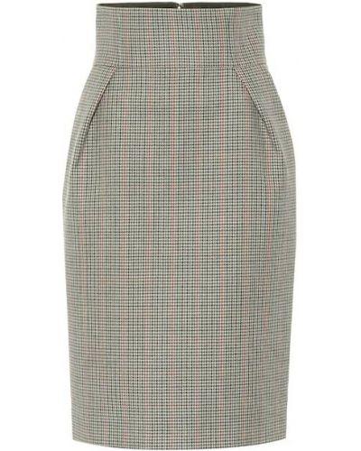 Зеленая юбки-пачки юбка Alexandre Vauthier