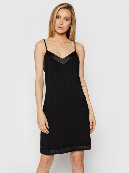 Czarna koszula nocna Calvin Klein Underwear
