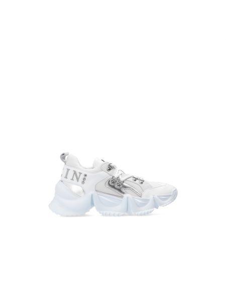 Buty sportowe srebrne - białe Philipp Plein