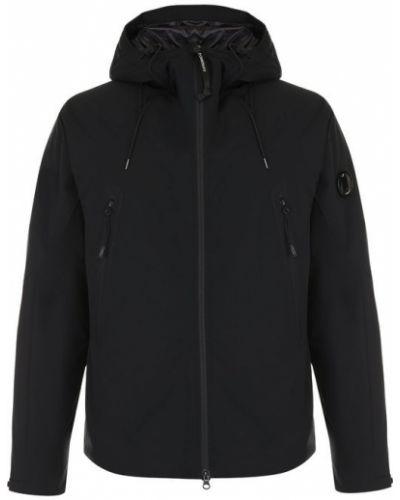Утепленная куртка с капюшоном на молнии C.p. Company