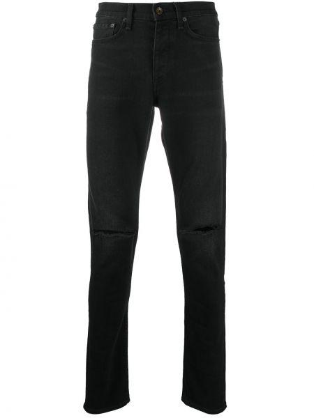 Klasyczne czarne jeansy bawełniane Rag & Bone