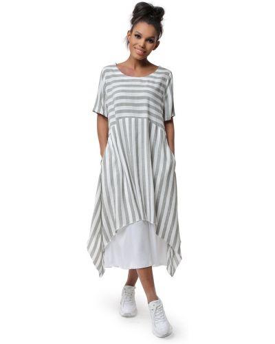 Прямое платье бохо с карманами Dizzyway