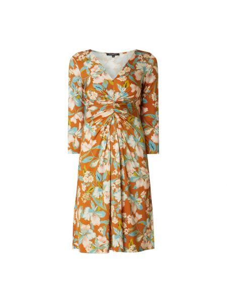 Sukienka rozkloszowana - brązowa Ilse Jacobsen