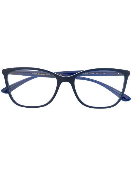 Очки для зрения прямоугольные хаки Dolce & Gabbana Eyewear