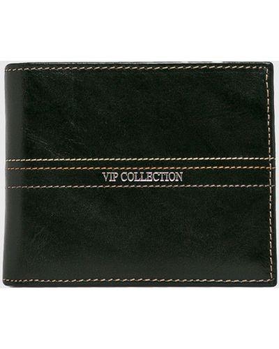Кошелек кожаный черный Vip Collection