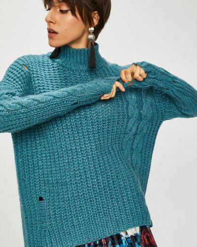Вязаный свитер свободного кроя в полоску Medicine