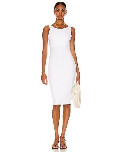 Повседневное текстильное белое платье Enza Costa