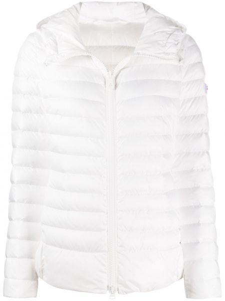Куртка с капюшоном мятная круглая Peuterey