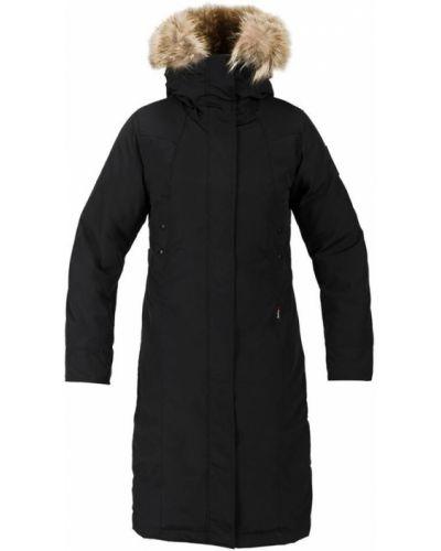 Пальто с капюшоном - черное Red Fox