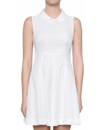 Белое платье Emporio Armani