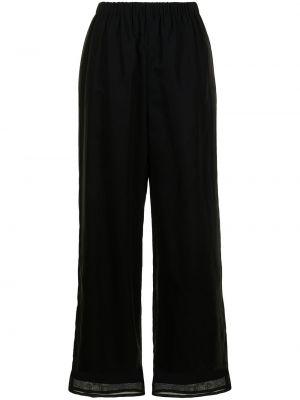Spodnie bawełniane - czarne Enfold
