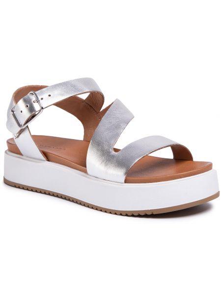 Sandały srebrne Inuovo