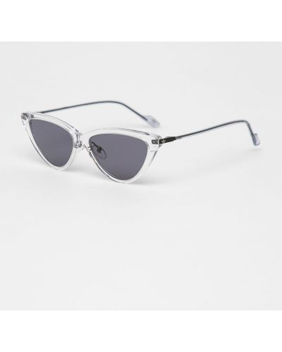 Солнцезащитные очки кошачий глаз белый Adidas Originals