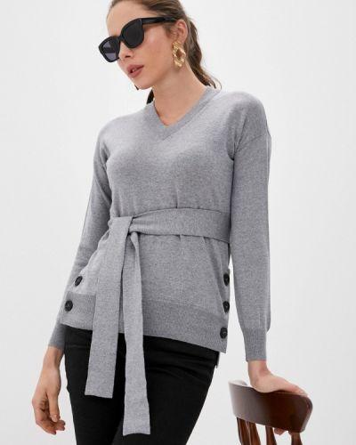 Серый пуловер Alpha Studio