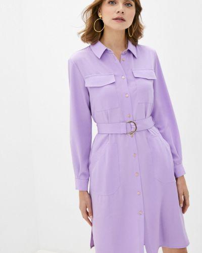 Фиолетовое платье-рубашка Imocean