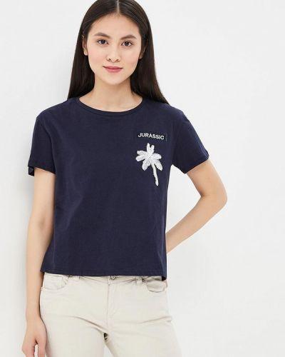Синяя футболка Sweewe