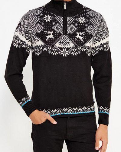 Черный свитер Kama
