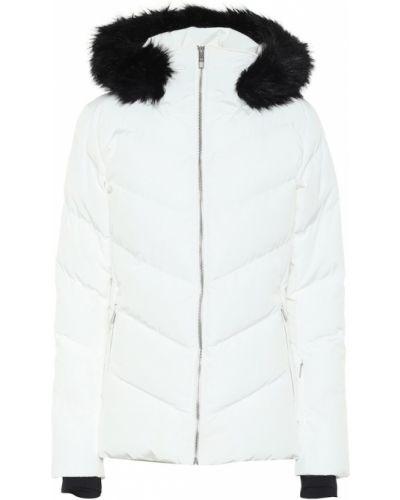 Biała kurtka pikowana Fusalp