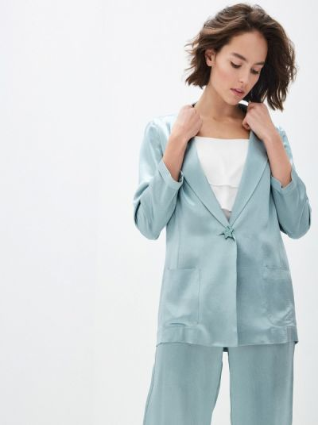 Бирюзовый пиджак Alessandro Dell'acqua