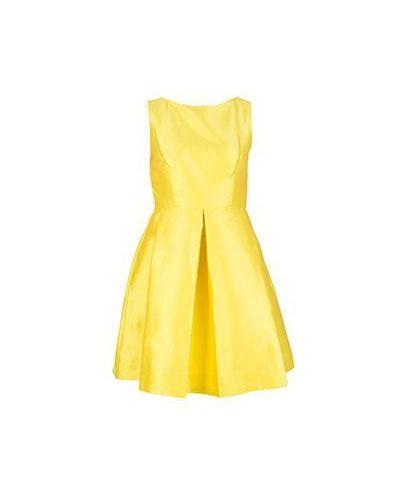 Желтое вечернее платье P.a.r.o.s.h.
