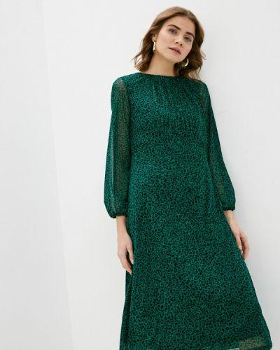 Повседневное зеленое платье Wallis