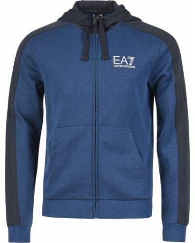 Спортивная кофта синий Ea7 Emporio Armani