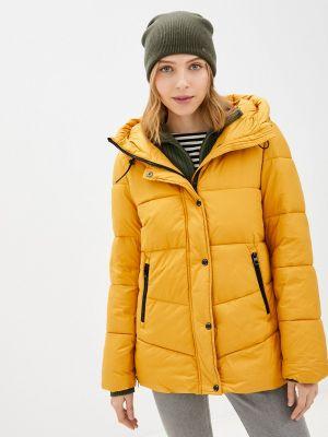 Утепленная куртка - желтая S.oliver