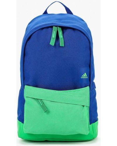Синий рюкзак из полиэстера Adidas