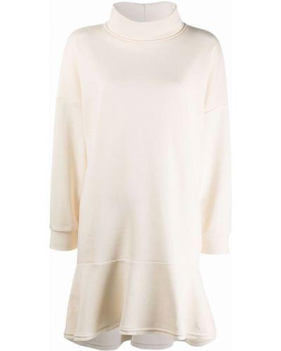Белое платье макси длинное 8pm