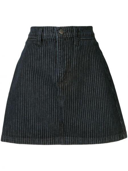 Джинсовая юбка с завышенной талией с карманами Nobody Denim