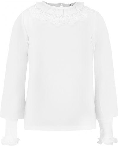 Блуза белый слон