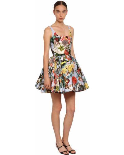 Платье мини с декольте Mary Katrantzou