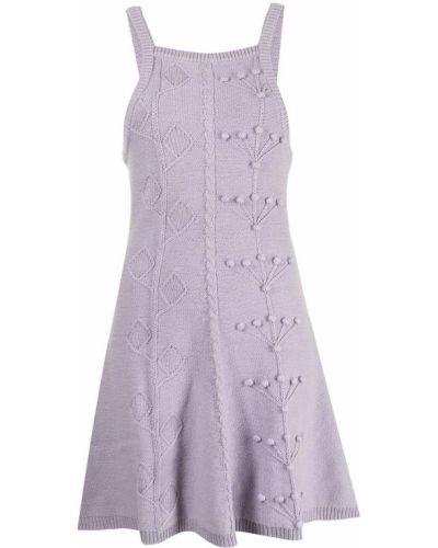 Фиолетовое платье без рукавов Alice Mccall
