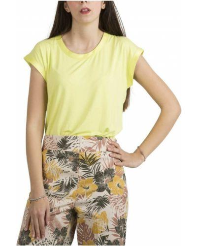 Żółty t-shirt Kocca