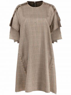Шелковое платье - бежевое Maison Margiela